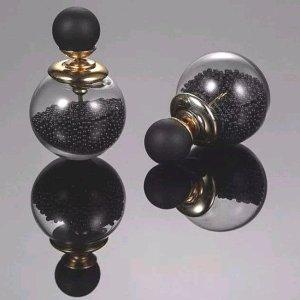 Pareloorbellen zwart-goud