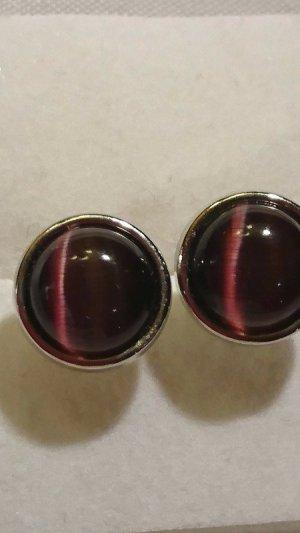 Oorstekers brons-zilver