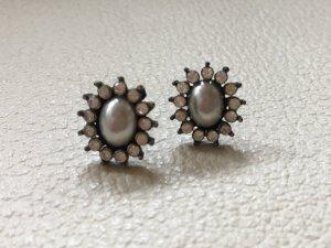 Ohrringe Perlen und Strass