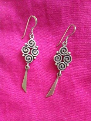 Ohrringe Silber 925 Stempel Schmuck Ohrhänger Ohrschmuck
