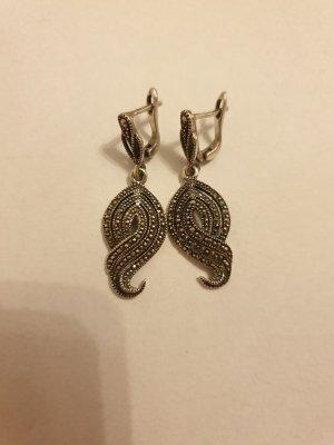 Ohrringe Silber mit Kristallen