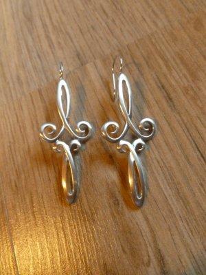 Ohrringe Silber rhodiniert Pierre Lang neu