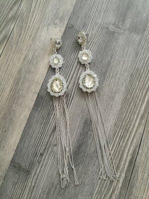 Ohrringe Silber Strass von Iam
