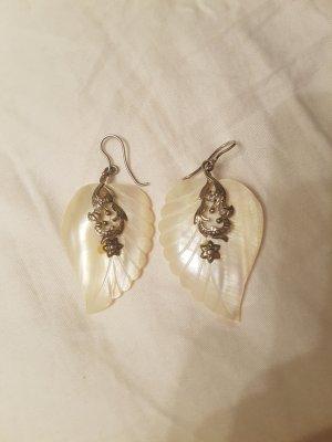 Ohrringe Silber und Perlmut