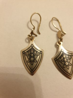 Ohrringe Silber vergoldet