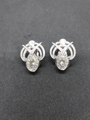 Ohrringe Silber Vintage
