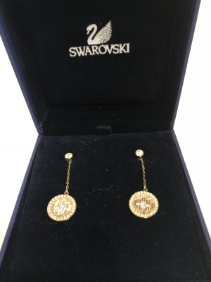 Swarovski Dangle gold-colored