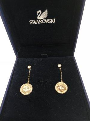 Swarovski Pendant d'oreille doré