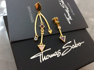 Thomas Sabo Ear stud multicolored real silver