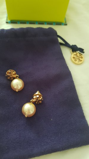 Tory Burch Pearl Earring rose-gold-coloured-gold-colored