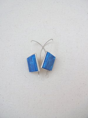 Ohrringe trend ausgefallen blau