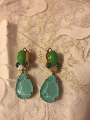 Earclip turquoise