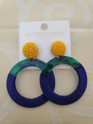 Accessorize Ear Hoops multicolored