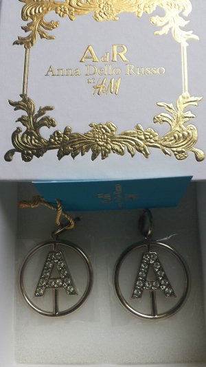 Anna Dello Russo for H&M Ear Hoops gold-colored