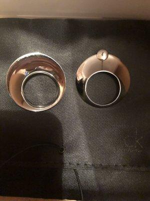 Calvin Klein Silver Earrings silver-colored