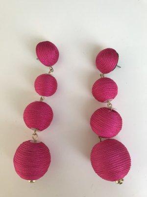 Mango Boucle d'oreille rose