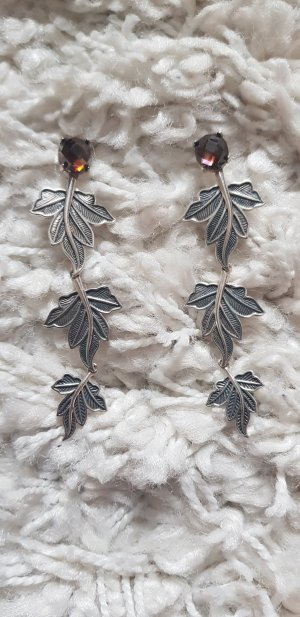 Thomas Sabo Silver Earrings silver-colored-brown