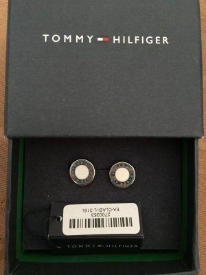 Tommy Hilfiger Ear stud white-silver-colored