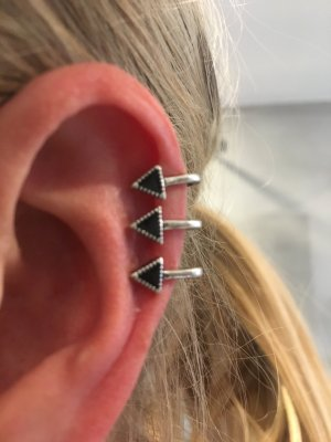 Asos Earring silver-colored