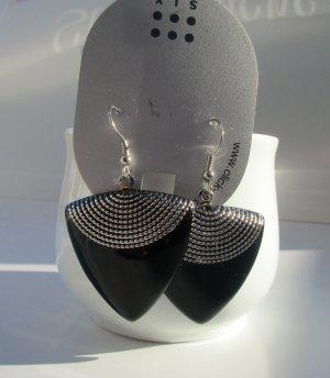 Six Bungeloorbellen zwart-grijs