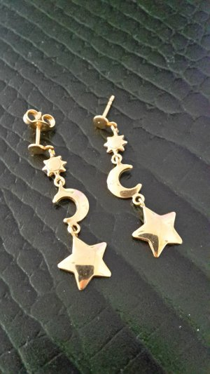 Gold Earring sand brown
