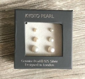 Ohrstecker echte Perlen Kyoto Pearl