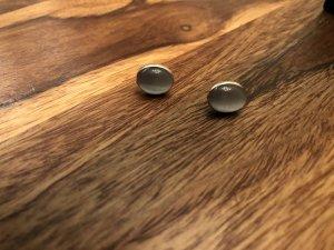 Clou d'oreille argenté-gris clair argent
