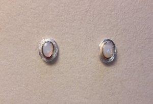 Ohrstecker in Silber 925/- mit echtem Opal