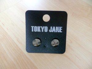 Ohrstecker Kathleen von Tokyo Jane, stahlfarben *NEU*