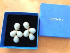 Ohrstecker mit Jadesteinen von JUSTWIN