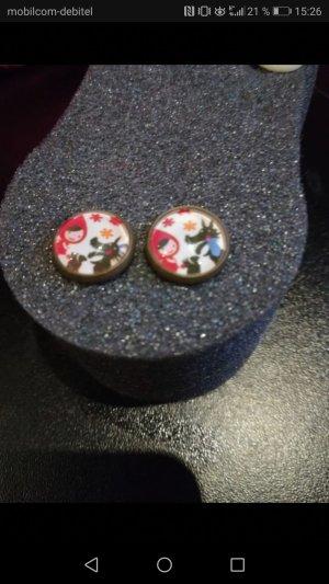 Earring multicolored