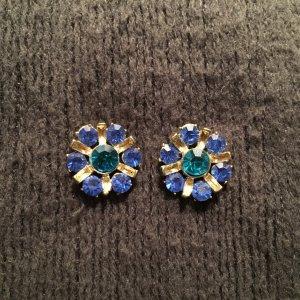 Ear stud cornflower blue-light blue