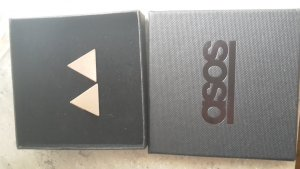 ohrstecker Ohrringe Asos Dreieck Gold