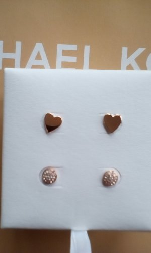 Michael Kors Clou d'oreille or rose