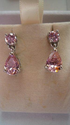Bijou Brigitte Ear stud silver-colored-pink metal