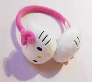 Cache-oreilles blanc-rose