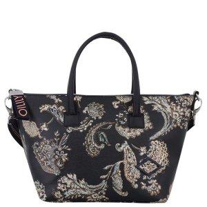 Oililly Tasche Schwarz mit Muster neu mit Etiket