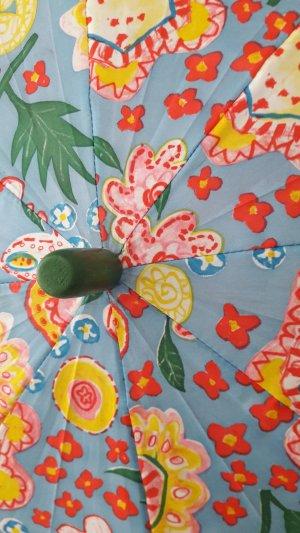 Oilily Parapluie long bleu-vert