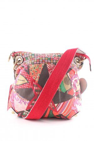 Oilily Pouch Bag mixed pattern casual look