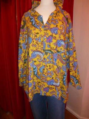 Oilily - Bluse, weiter Schnitt, Vintage, 80er Jahre - Gr. L