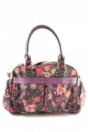 Oilily Bowling Bag flower pattern casual look