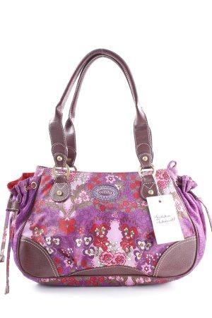 Oilily Handtasche Blumenmuster Casual-Look