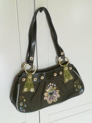 Oilily Handtasche Olivgrün