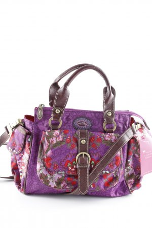 Oilily Carry Bag abstract pattern casual look