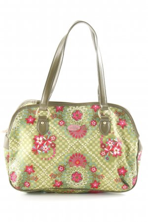 Oilily Carry Bag flower pattern extravagant style