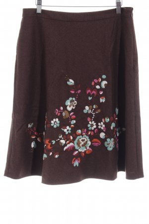 Oilily High Waist Rock Blumenmuster Casual-Look