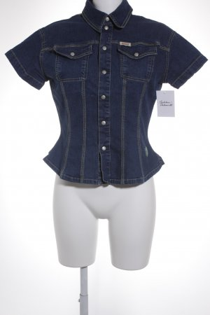 Oilily Jeanshemd blau Casual-Look