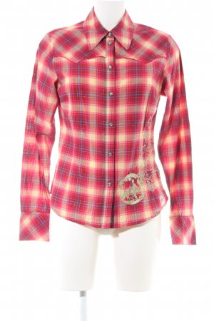 Oilily Langarmhemd rot-creme Allover-Druck Casual-Look