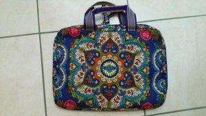 Oilily Laptop Tasche mit Blumen und Paisley Muster
