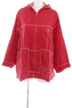 Oilily Impermeabile rosso stile casual